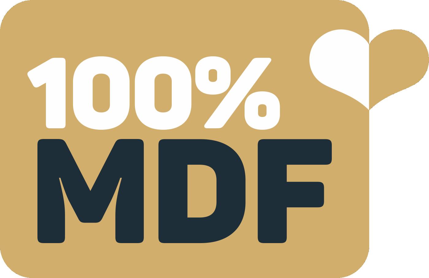 Produto 100% MDF